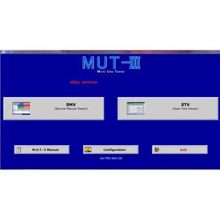 Mitsubishi MUT III 3 19031 2019 diagnostic Software | Shopee