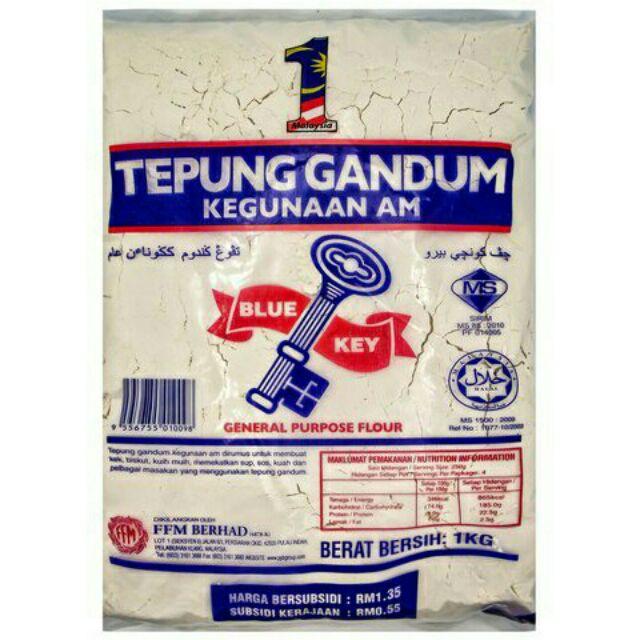 Gandum Cap Kunci 1kg Shopee Malaysia