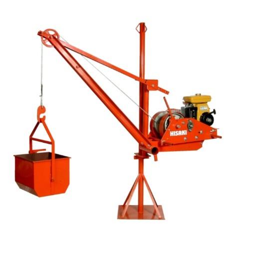HISAKI Portable Lifting Hoist YPH300 Petrol Engine