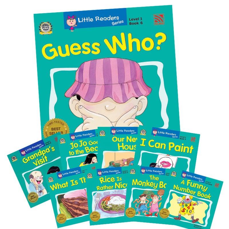 Little Readers Series Level 1 Set ( Book 1 - 9 )