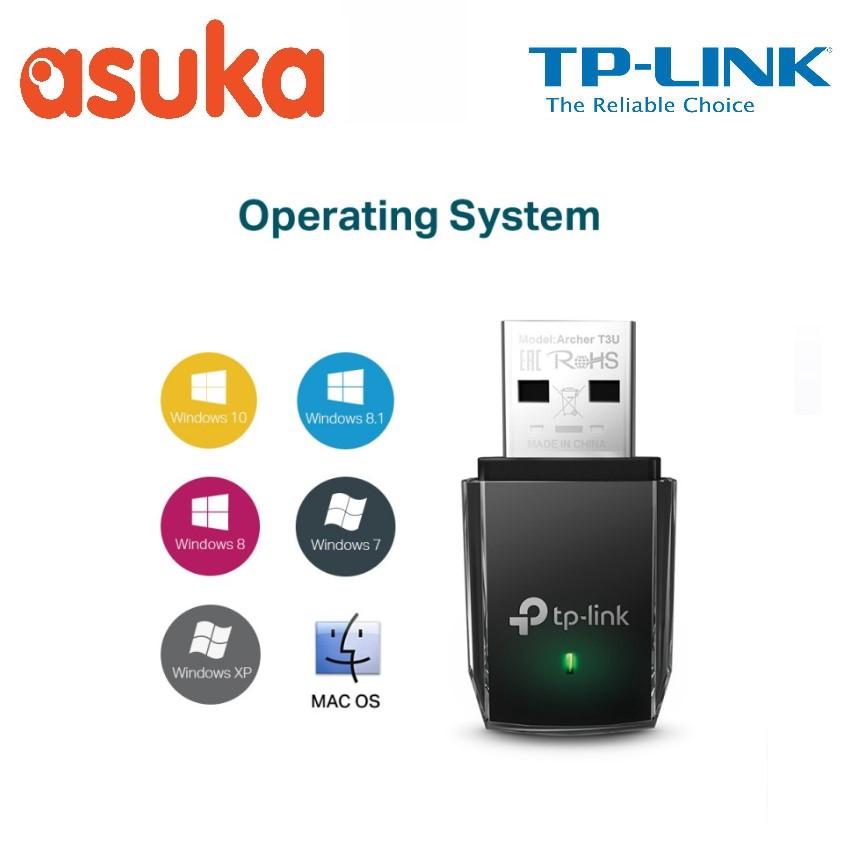 TP-Link AC1300 Mini Wireless MU-MIMO USB Adapter