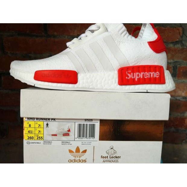 cb4b98a5d4c96f LV x Adidas NMD R1 Red S70160 Sport Running Shoes Classic Casual Shoes  Sneakers