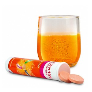 Flavettes Glow (Vitamin C + Glutathione) Effervescent Tablets (15's/30's)