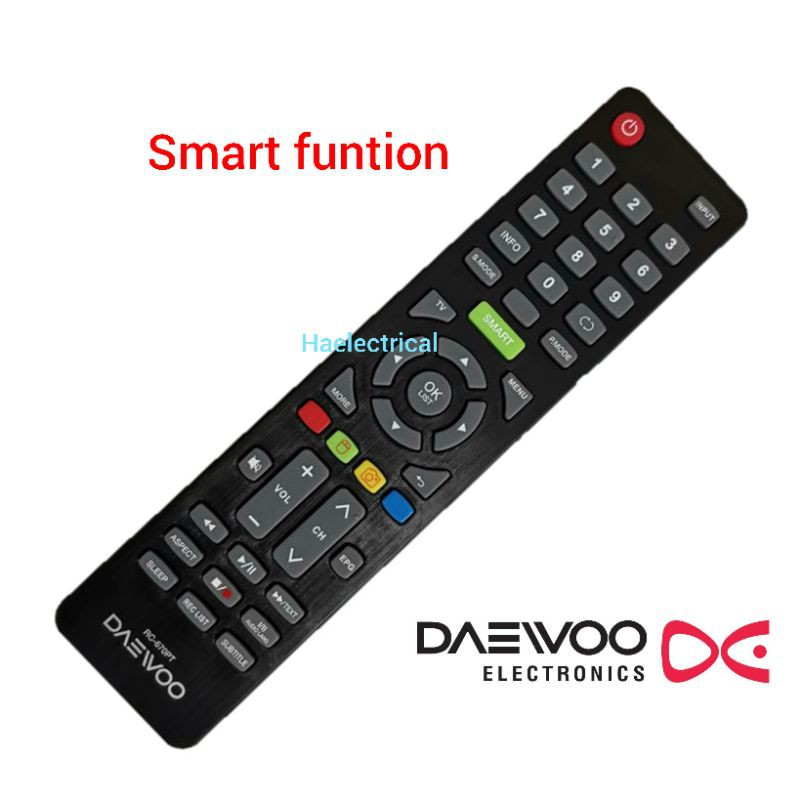 DAEWOO smart tv remote control RC-670PT