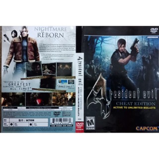 Ps2 Resident Evil 4 Cheat Edition Cheat Code Included Shopee