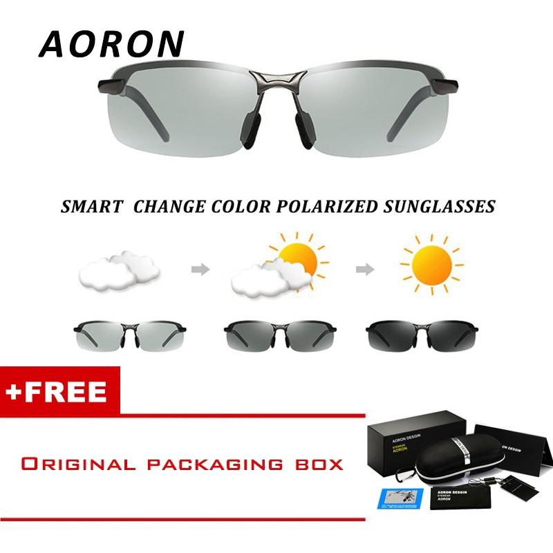 a261a525ba4 AORON Men s Polarized Sunglasses Driving Glasses Square Outside Goggles  Glasses