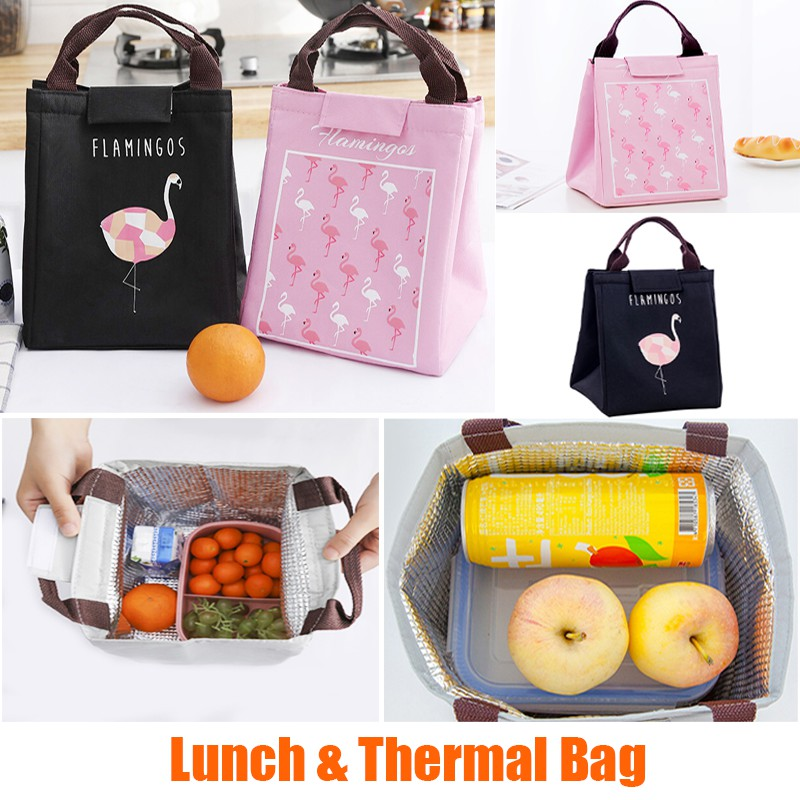 fc5e15560aa7 🔥ReadyStockInMalay🇲🇾 Lunch Box Bag Cooler Bag Insulated Bag Storage Bag  Portable Thermal Bag Lunch bag Cooler box