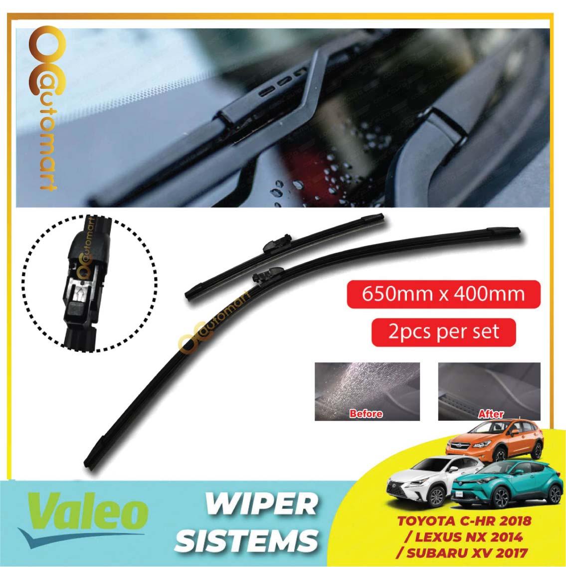 """Subaru XV / Toyota C-HR / Lexus NX Valeo First Windscreen Flat Wiper Blade (26""""/16"""")"""