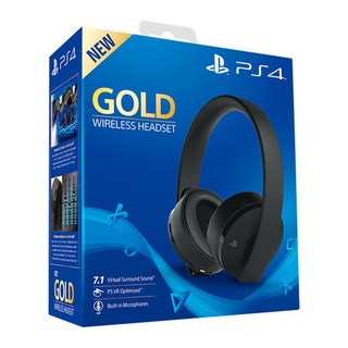 Original Sony Playstation Platinum Gold Wireless Stereo Headset Ps4 Ps3 Ps Vita Pc Mobile Shopee Malaysia