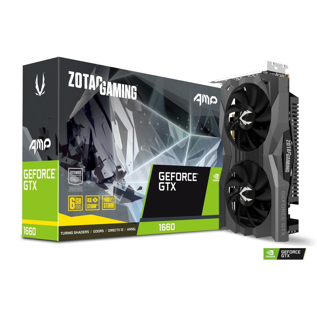 ZOTAC GAMING GeForce GTX 1660 AMP 6GB GDDR5 ( ZT-T16600D-10M )