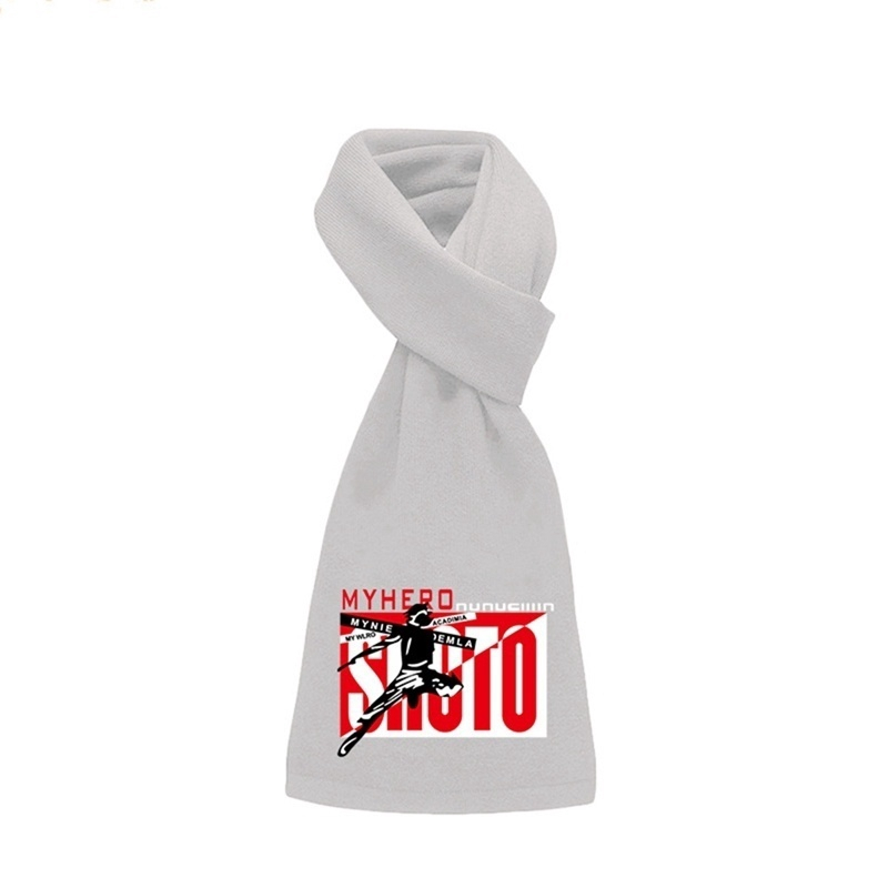 My Hero Academia Soft Scarf Fashion Scarves For Men Women Winter Warm Shawl