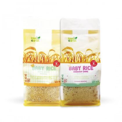Love Earth Baby Rice (Quinoa + Buckwheat) 900g 乐儿天然宝宝米 - 藜麦 , 小米 900公克 (袋 装)+ 荞麦 , 玉米碎 900公克 (袋 装)