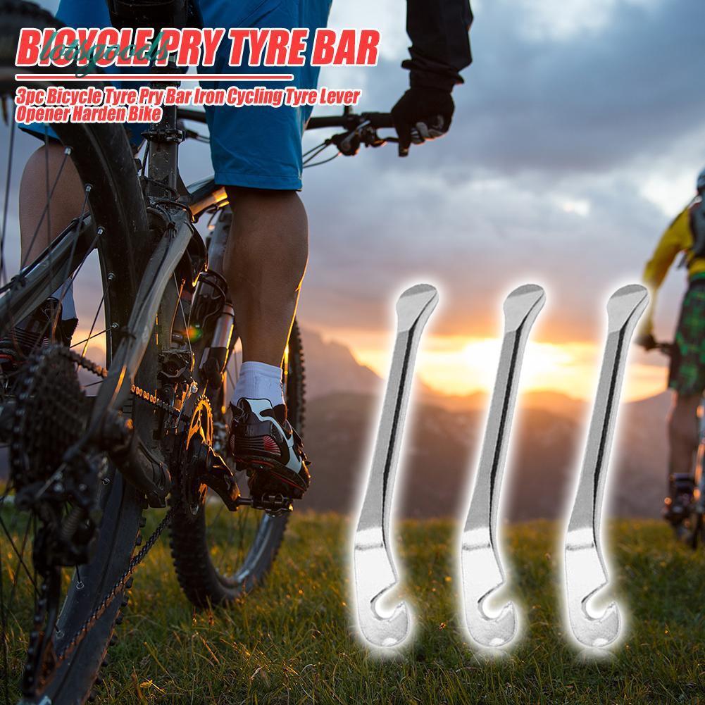 Bicycle Tire Iron Rod Mountain Bike Tire Metal Crowbar Bicycle Repair Tool//3PCS