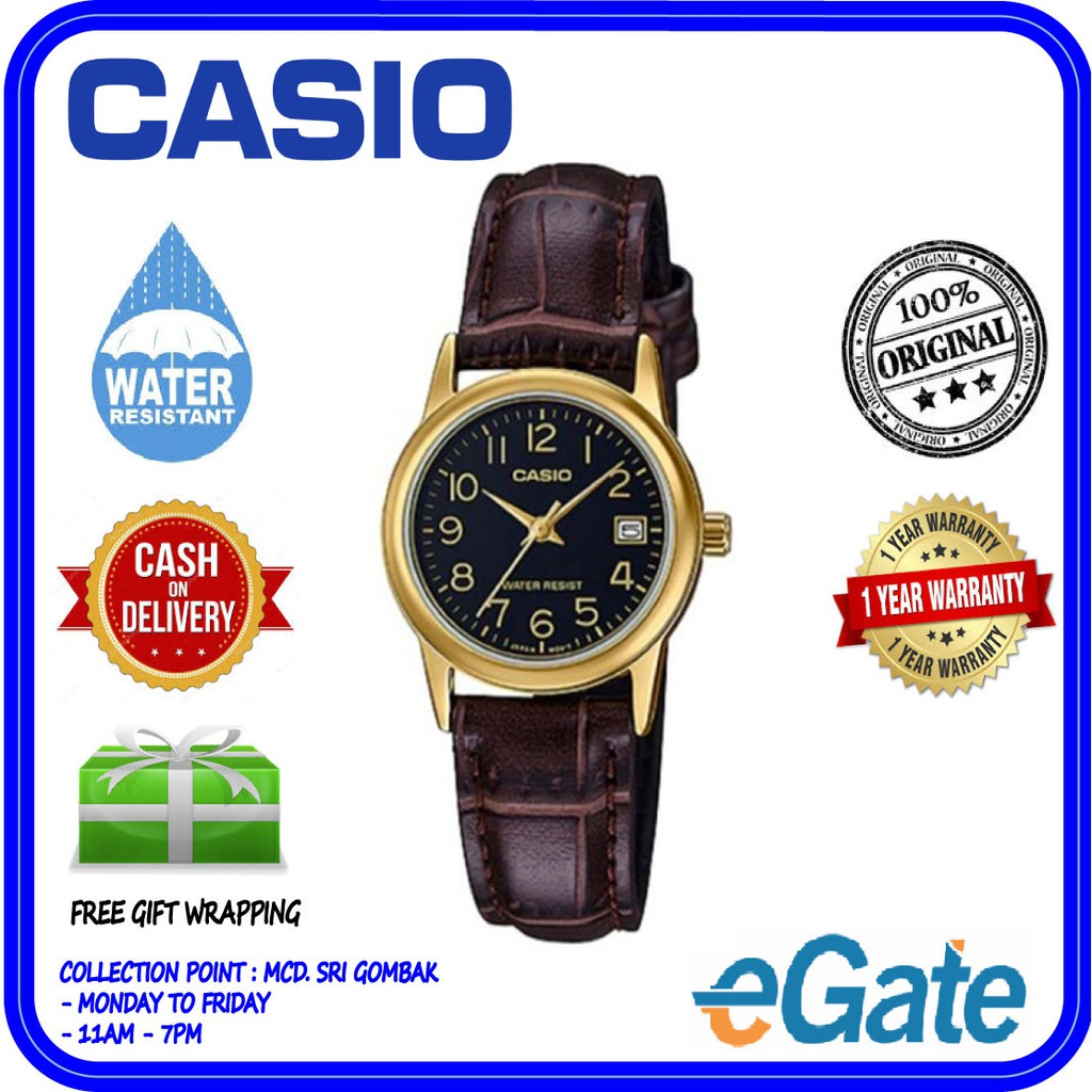 Harga Borong Casio Rose Gold Digital Watch Limited Shopee Malaysia Ltp 1378l 2e Women Quartz Blue