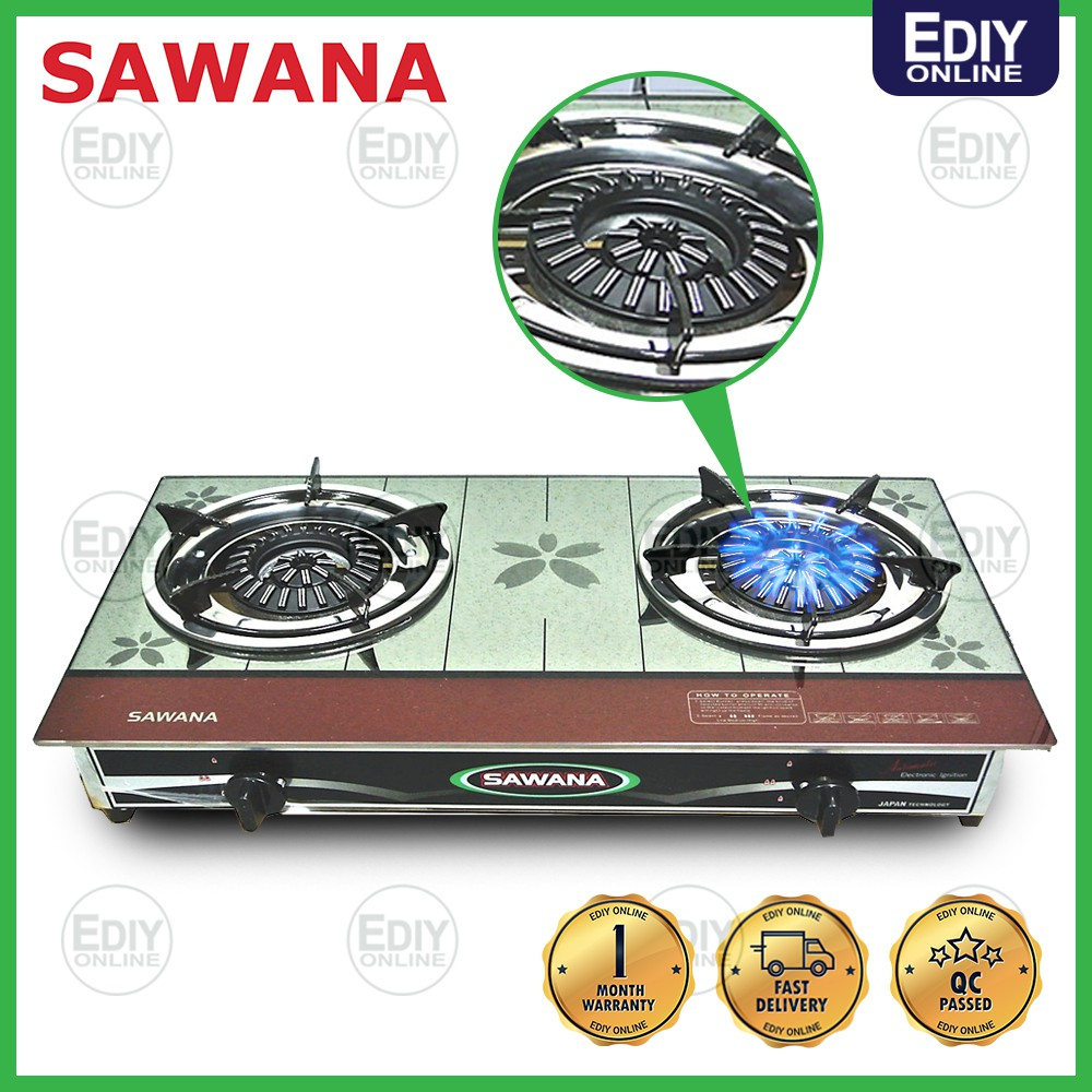 Sawana Sw988 Gl Gas Cooker Dapur