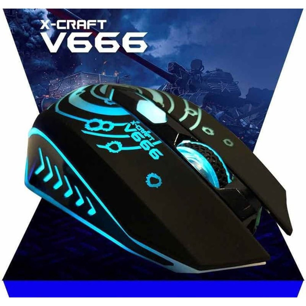 Alcatroz X Craft V Series 3200 Cpi 7 Led Effect Gaming Mouse Free Lithium L2 Mousemat Shopee Malaysia