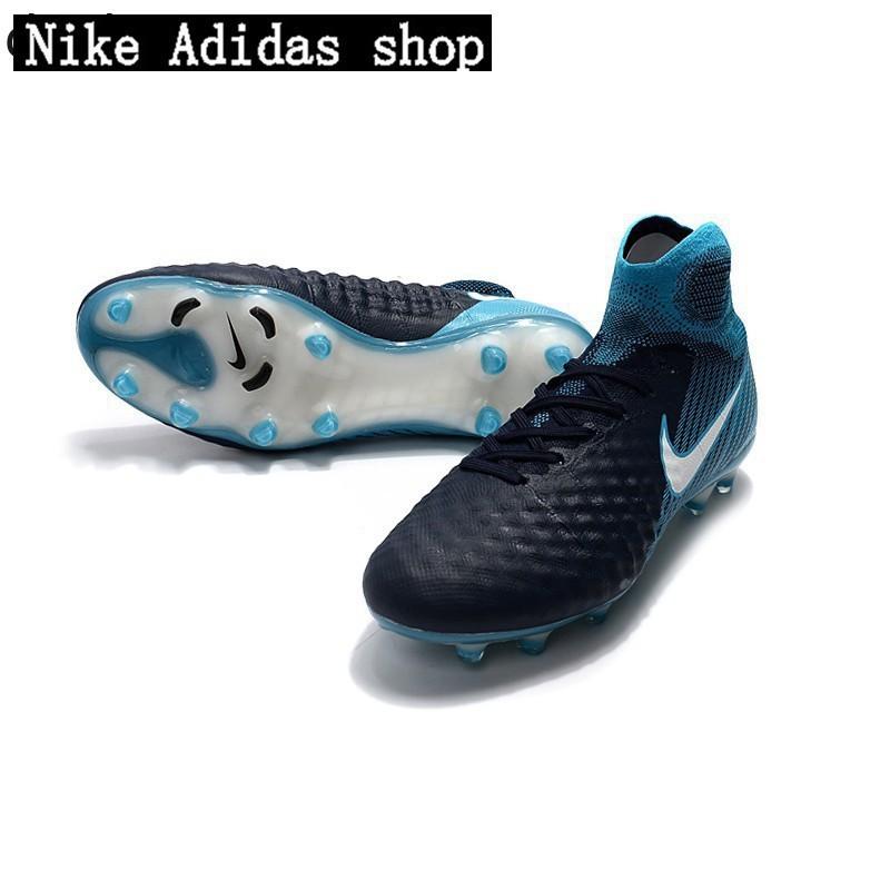 gama alta 2017 botas de futbol nike magista obra ii fg azul bl