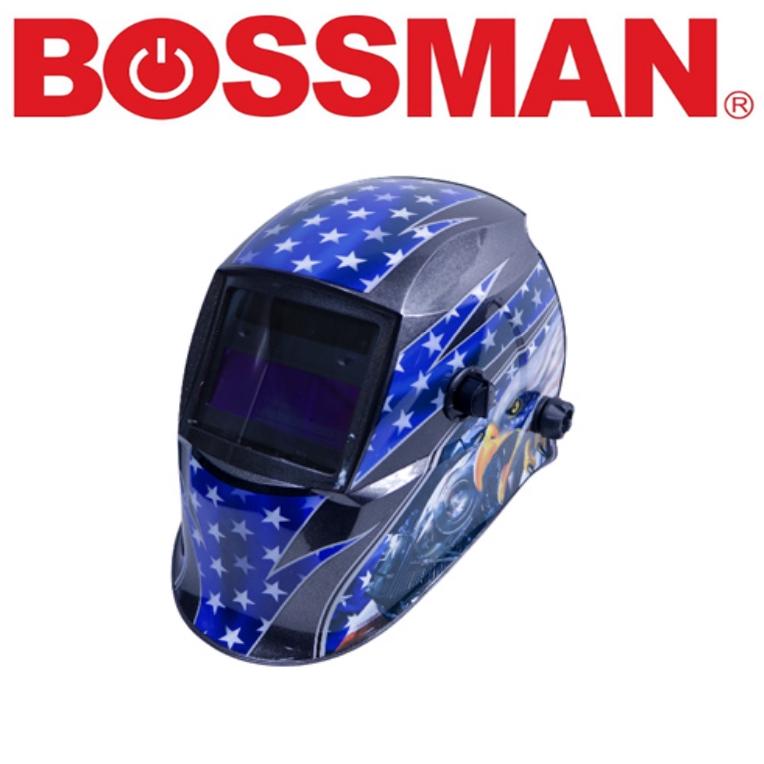 BOSSMAN BWH266H AUTO DARKENING WELDING HELMET HIGH GOOD QUALITY PROFESSIONAL SAFETY 3 MONTHS WARRANTY