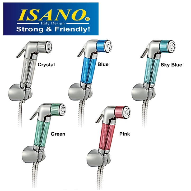 ISANO High Pressure Nozzles Toilet Hand Spray Bidet Garden Car Wash Sink Water Hose Sprayer Gun Cannon