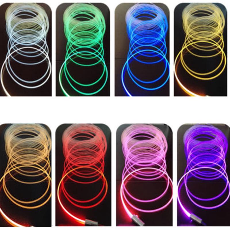 New 3mm 3W DC 12V Car PMMA Side Glow Fiber Optic Light Source