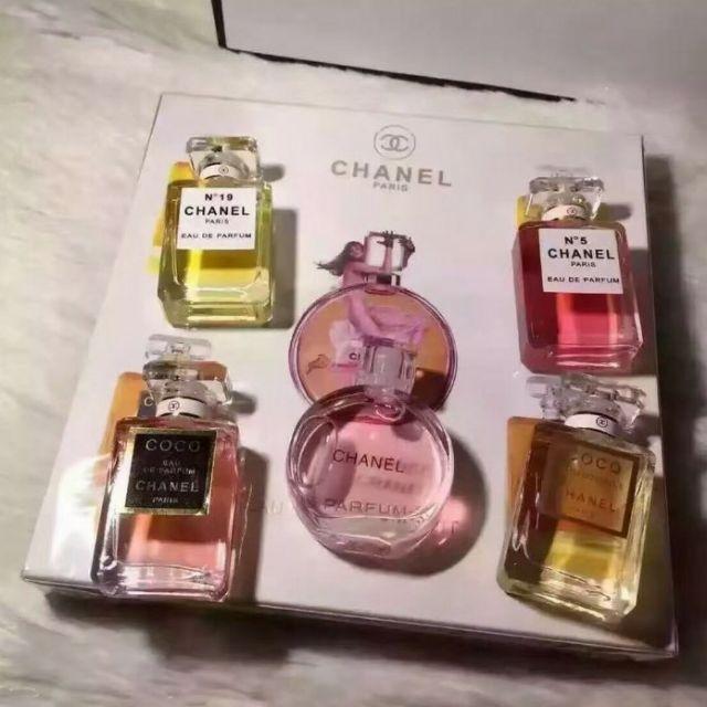 c931defe Miniature Chanel 5 in 1 Perfume Set (5ml)