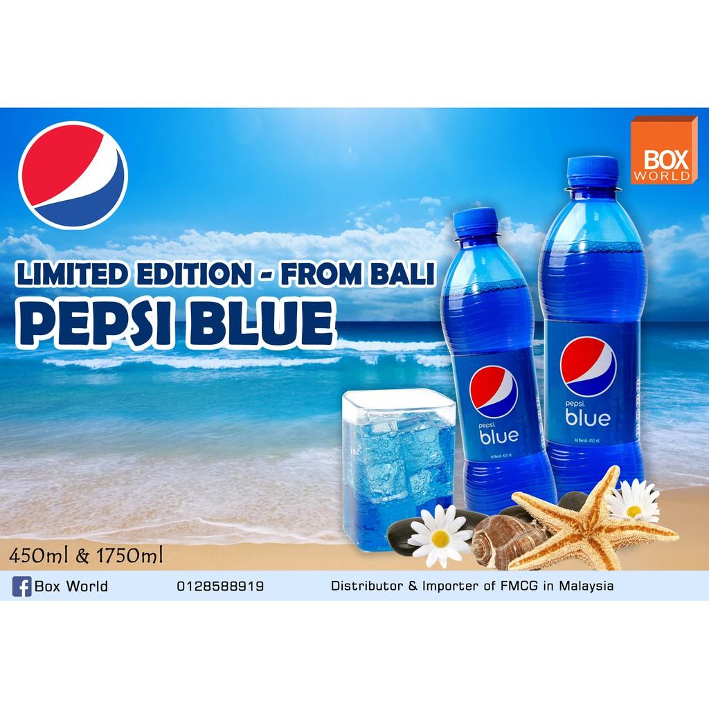 LIMITED EDITION PEPSI BLUE - 450ml