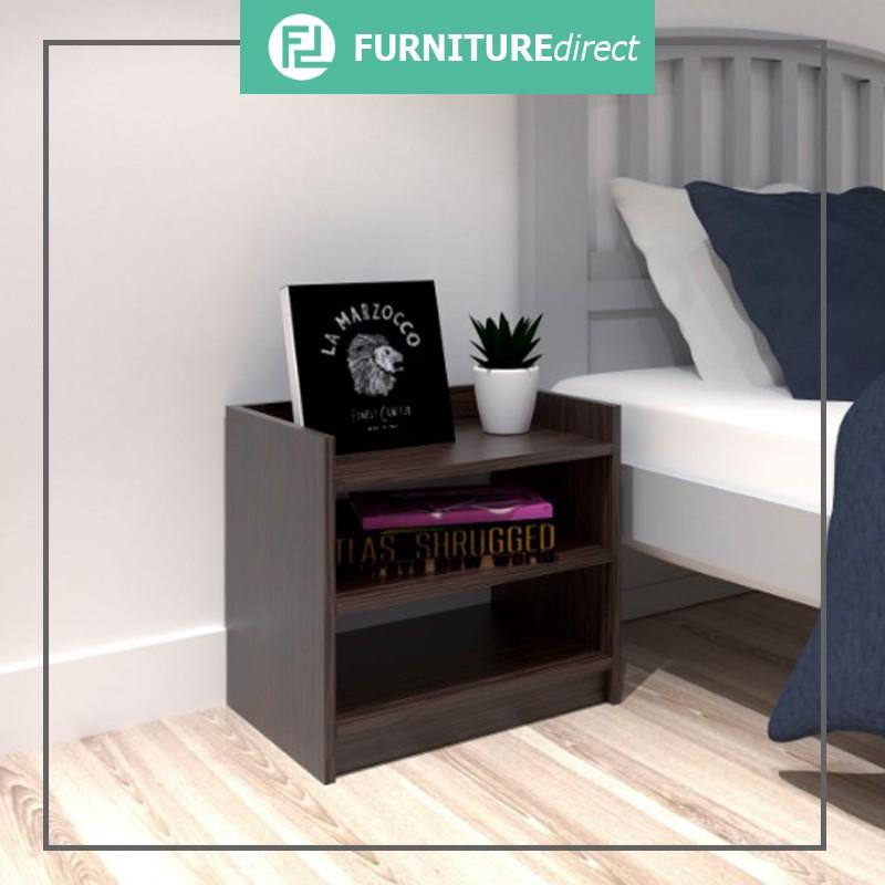 Furniture MORRIS rustic look 2 Drawer side table/ bedside table/ bedside table drawer