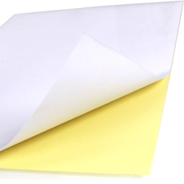 100pcs a4 sticker paper  normal   matte  printing label