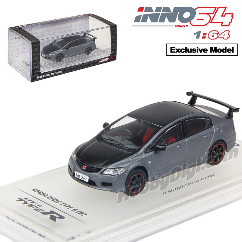 Inno Models Inno64 Honda Civic Type R Fd2 1 Type R Livery Japan One