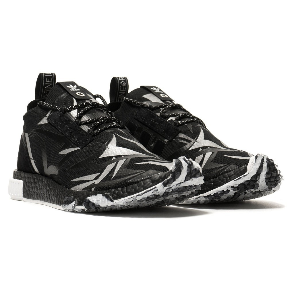 sneakers for cheap a828c 871a7 Original Juice x Adidas Consortium NMD Racer 'Black'