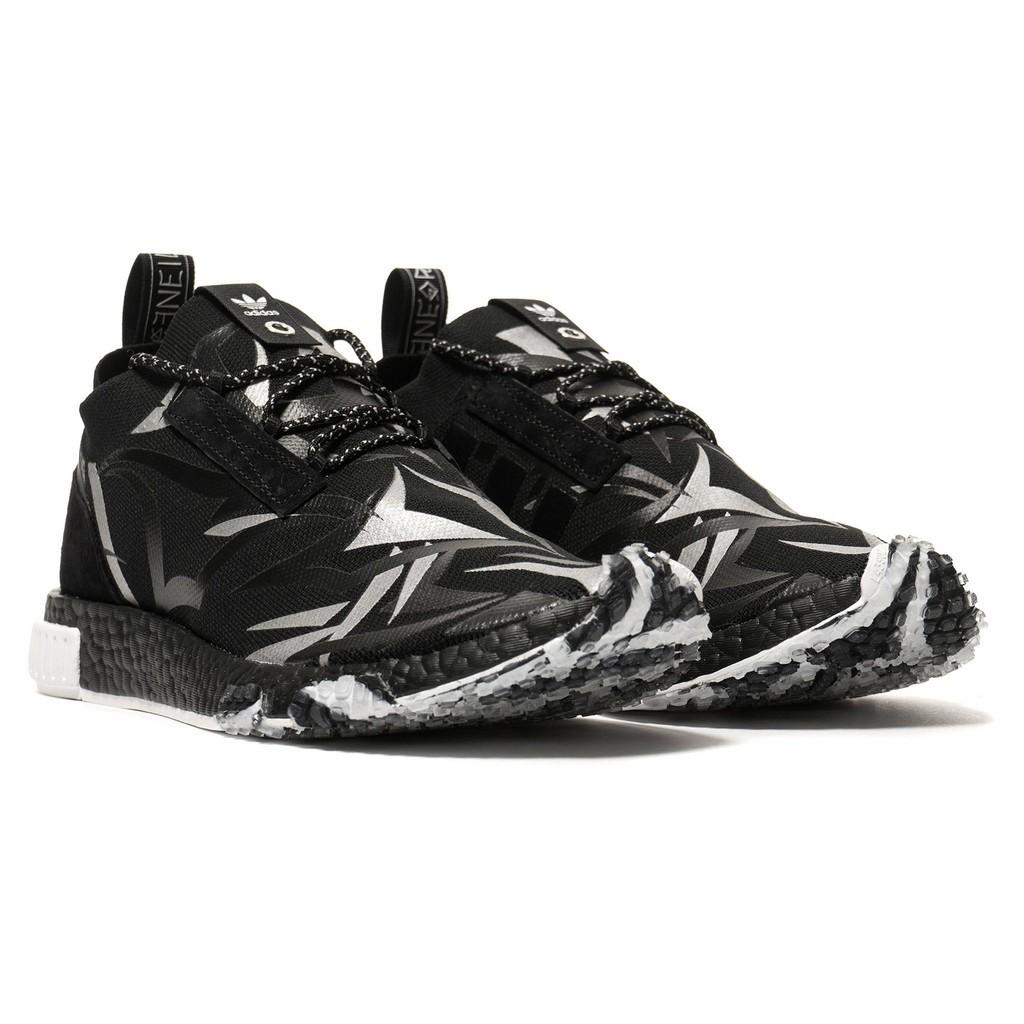 sneakers for cheap 898d0 87855 Original Juice x Adidas Consortium NMD Racer 'Black'