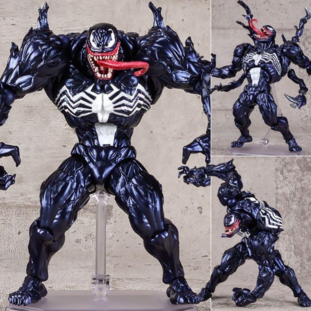 Revoltech Venom Carnage Spiderman Spider-Man PVC Action Figur Figuren Spielzeug