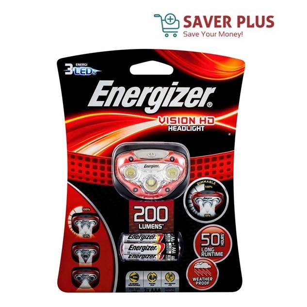 Energizer Vision HD Headlight (HDB32)