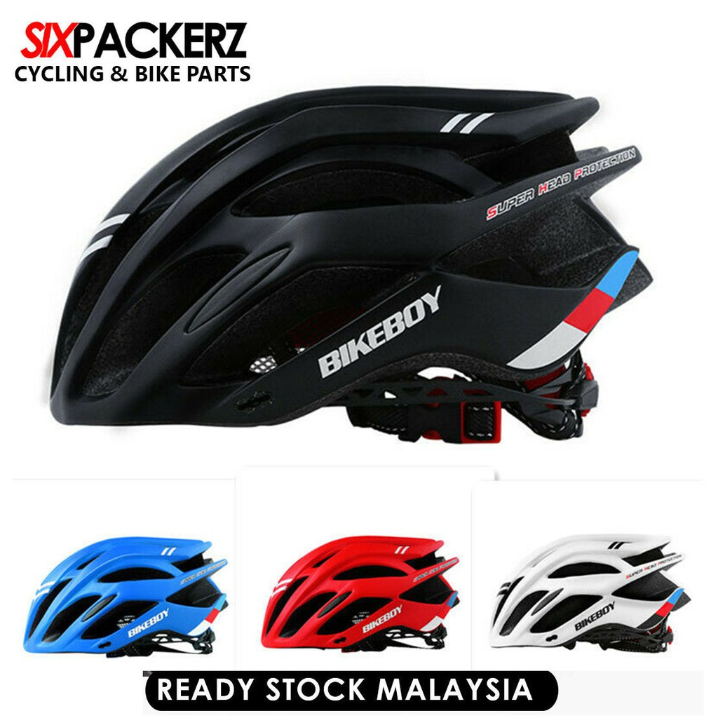 Bikeboy Mens Adults MTB Moutain Bike Cycling Bicycle Helmet Ultralight Protective  Gear | Shopee Malaysia