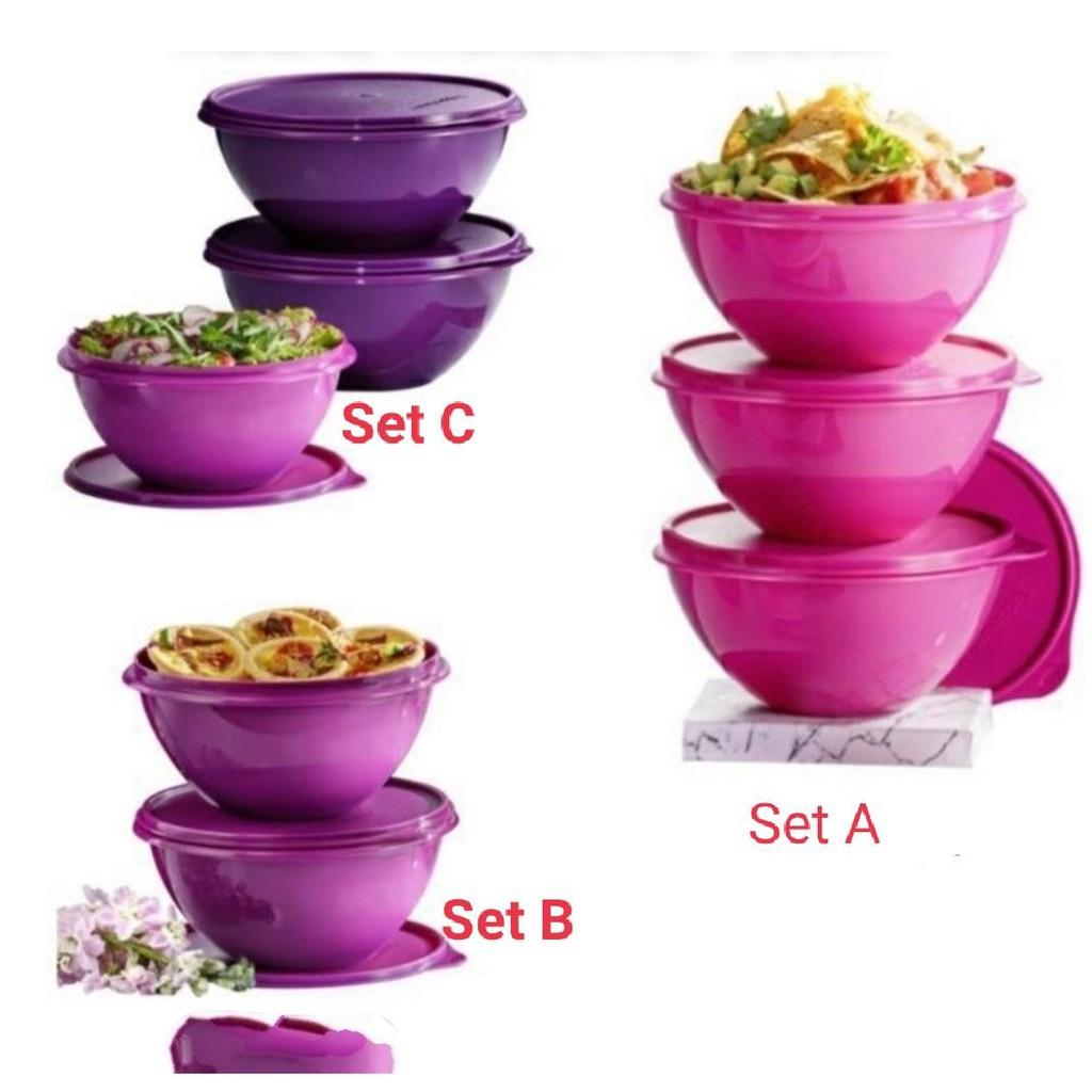 Tupperware round wondelier bowl