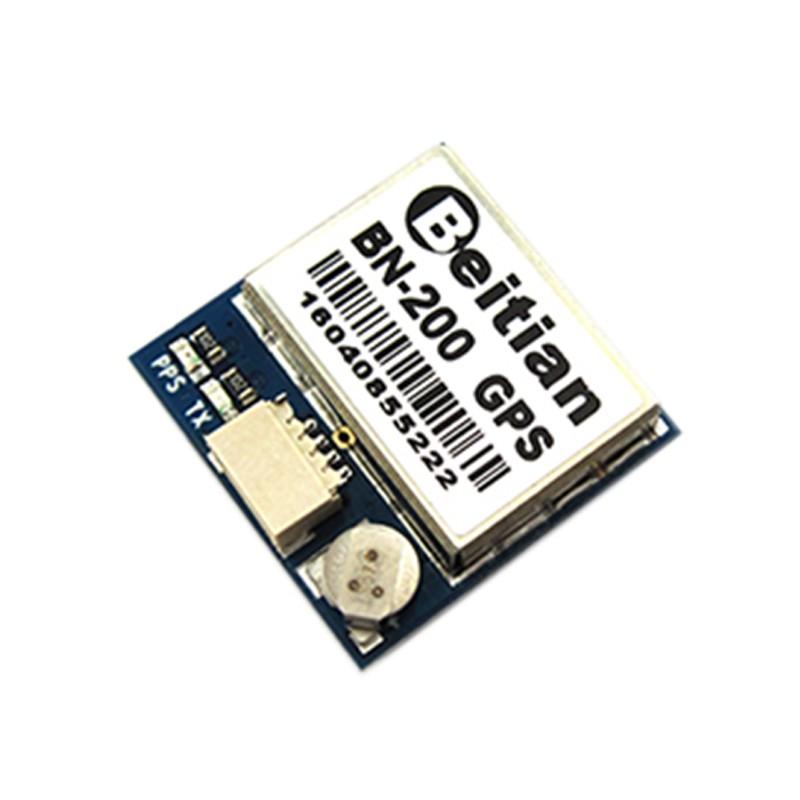Bn-200 Small Size Chipset Gps Module Antenna Gps Glonass Dual Gnss Module  With 4