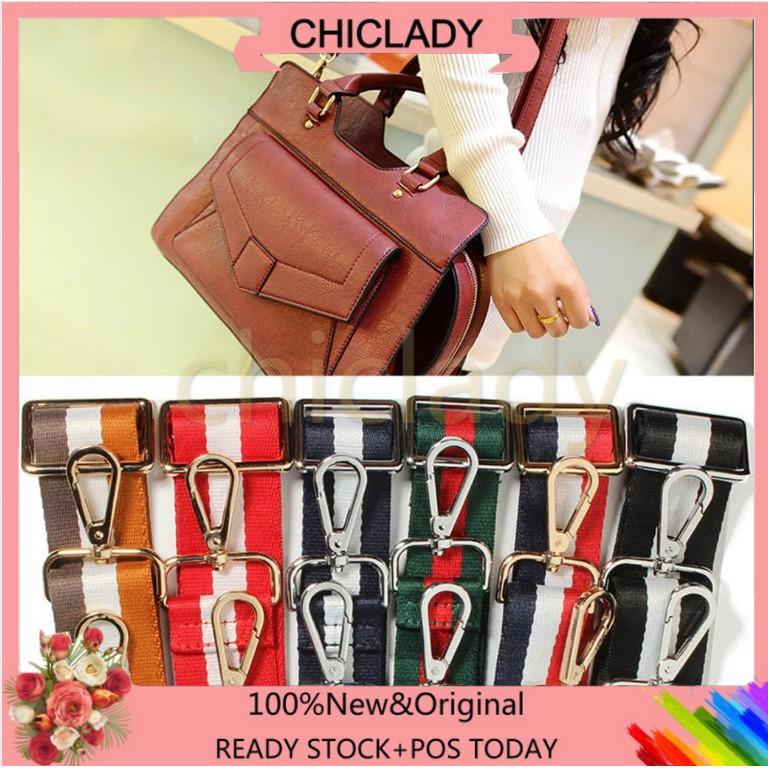 ad8196941df0 🔥CHD🔥【wholesale!!!】 Colorful Mix Color Shoulder Strap Fashion Belt  Adjustable Strap Replacement