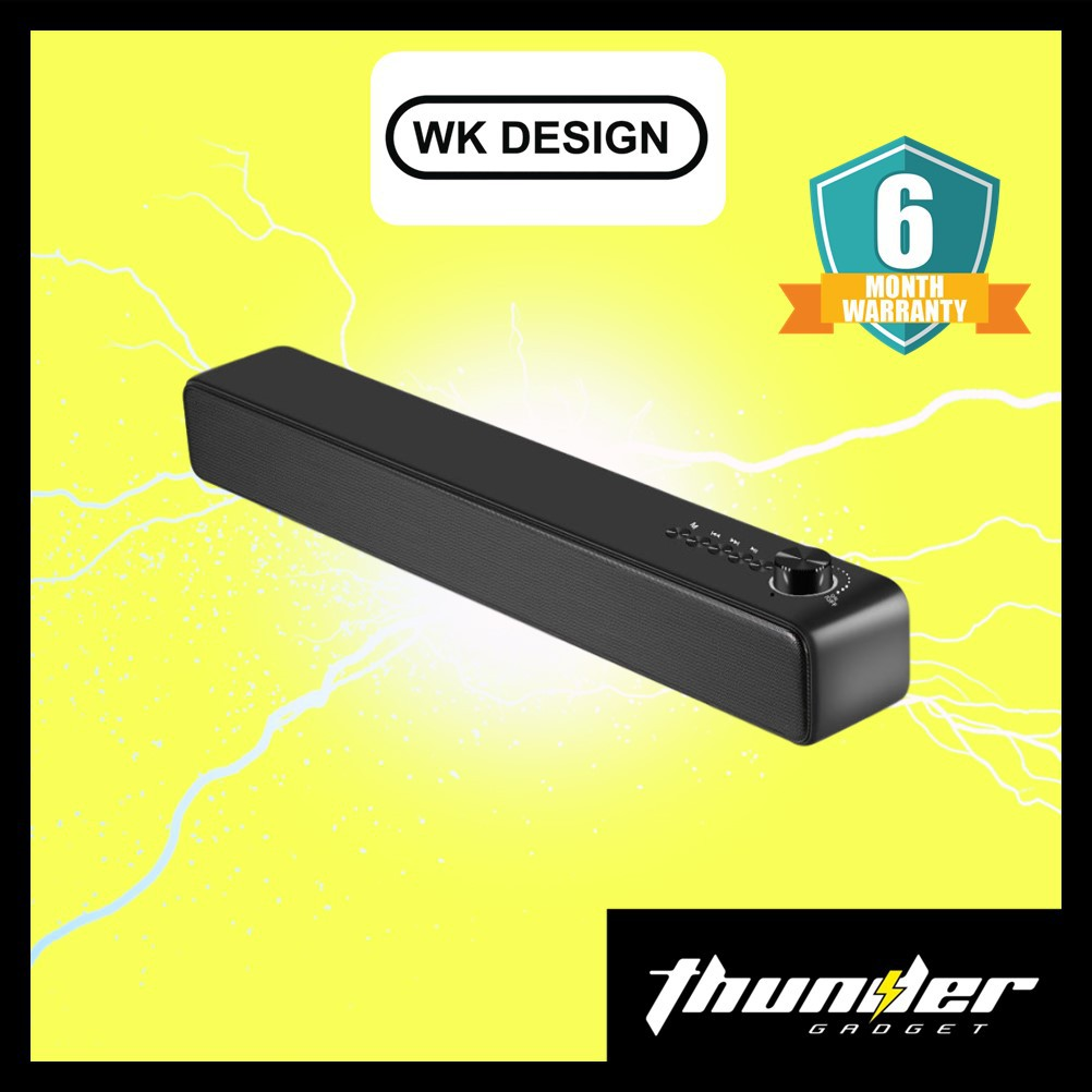 WK Design ST550 Sound bar 10W Bluetooth 5.0 Headset Bass Stereo Wireless Speaker Portable Speaker