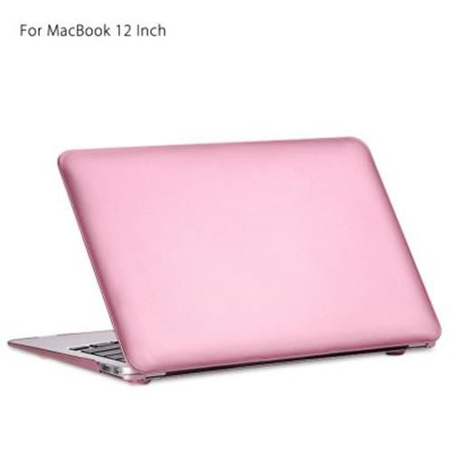 HOCO SIMPLE ULTRA SLIM PC HARD FULL BODY CASE FOR MACBOOK 12 INCH (ROSE GOLD)
