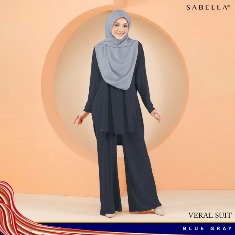 Sabella Veral Suit available Size Small & Medium [Ready Stock]