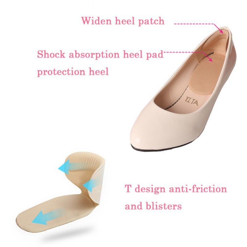 6472b64c9a 💋💕3 Pairs Classical Silicone Cushion Gel Heel Foot Care Shoe Insert Pad  Insole | Shopee Malaysia