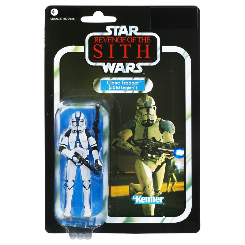 Star Wars Revenge Of The Sith Clone Trooper 501st Legion Zk078 Action Figures Shopee Malaysia