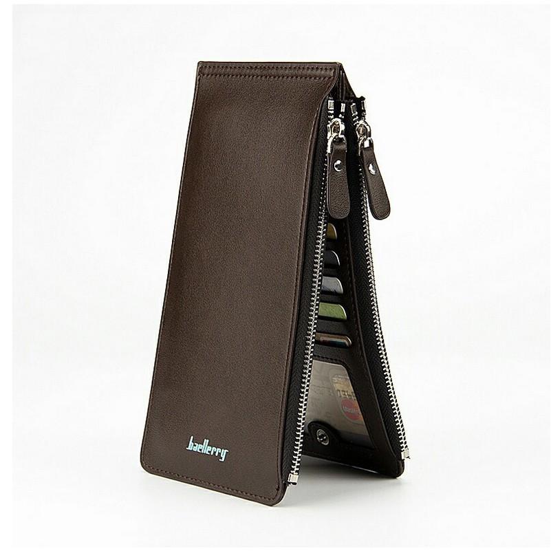 Baellerry Cross Style Zipper Long Wallet Purse  ec7c023d36
