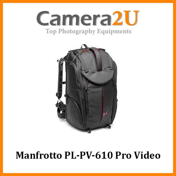 Manfrotto PL-PV-610 Pro Video Backpack for Camcorder VDSLR
