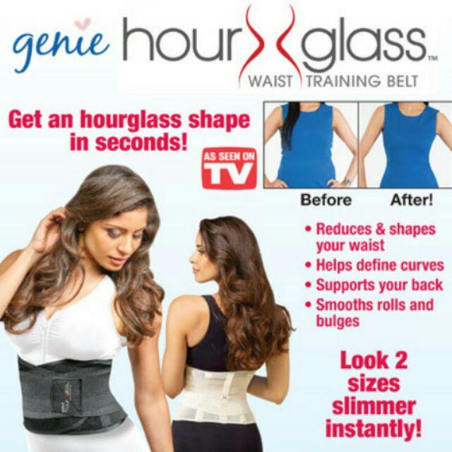 91c6f4bee32 Genie Hour Glass Waist Training Belt