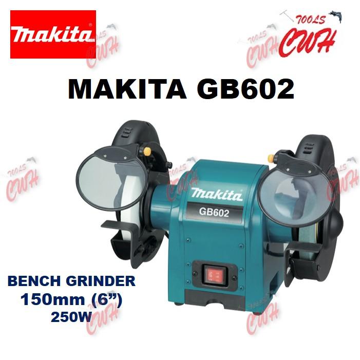 "MAKITA GB602 250W 150MM (6"") BENCH GRINDER GRINDING MACHINE SITTING POLISHING"