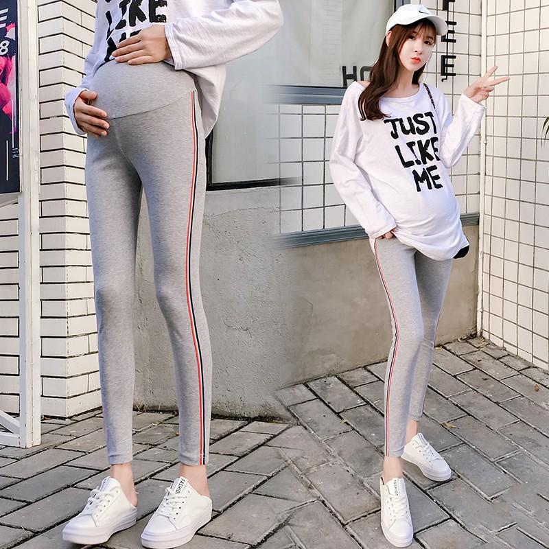 dca9ded3a2 ♛✨ HOT! Pregnant Women's Side Ribbon Bottom Pants Bottom Trousers ...