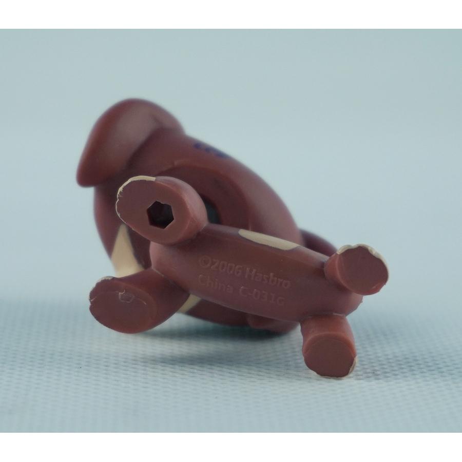 "2/"" Dachshund Dog Littlest Pet Shop Brown Girls Toys Lovely LPS #3601 Green Eyes"