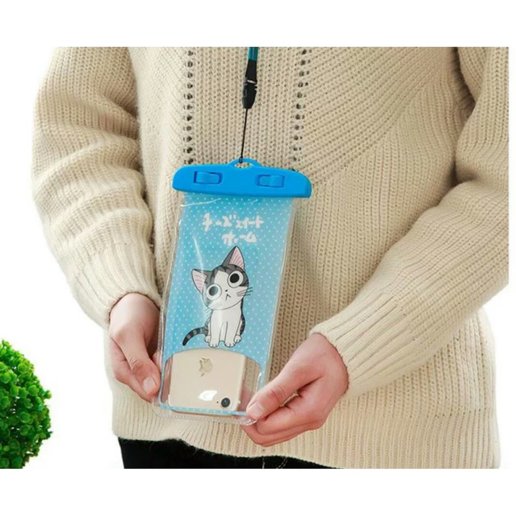 Hello Kitty Cat Panda Totoro Cute Waterproof Underwater Pouch Float Bag