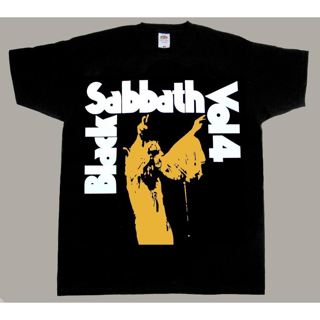 BLACK SABBATH VOL 4 OZZY OSBOURNE RONNIE BLACK Kurzarm Langarm Ärmelart T-SHIRT